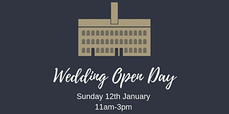 January Wedding Open Day tickets