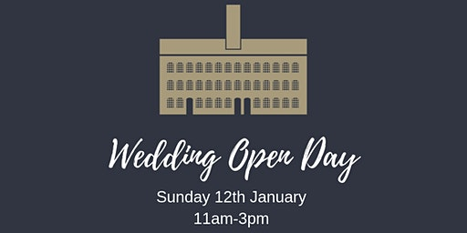 January Wedding Open Day