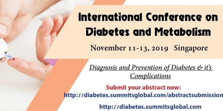 International Conference on Diabetes and Metabolism tickets