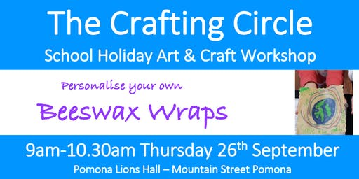 School Holiday Workshop - Beeswax Wraps