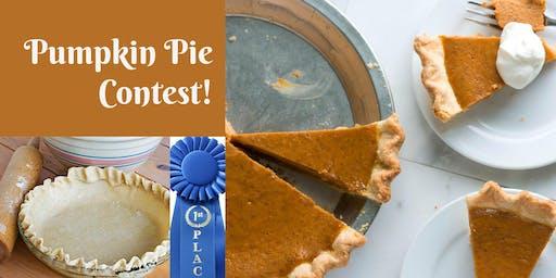Pumpkin Pie Contest