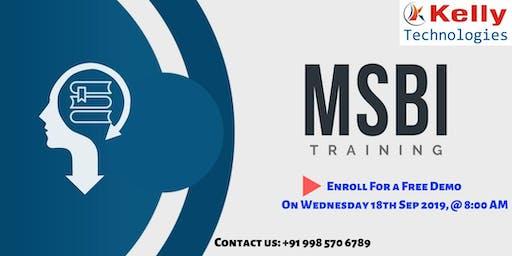 Attend Free Demo On MSBI