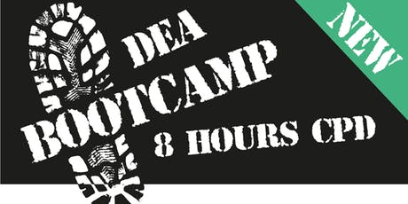 DEA Bootcamp / Refresher  CPD (1 day) tickets