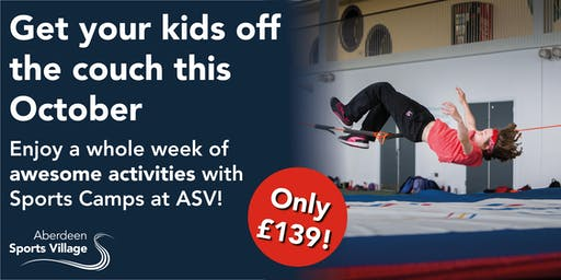 Sports Camps at ASV October 2019 - Week 2