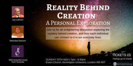 Reality Behind Creation : A Personal Exploration tickets