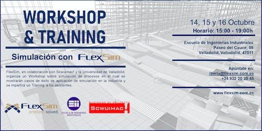 FlexSim Workshop y Training en la UVa