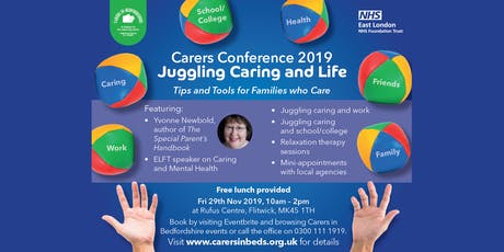 Carers Conference 2019 - Juggling Caring and Life tickets