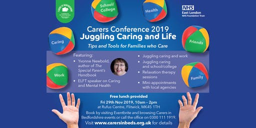 Carers Conference 2019 - Juggling Caring and Life