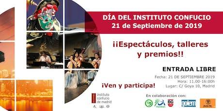 Día del Instituto Confucio de Madrid 2019 entradas