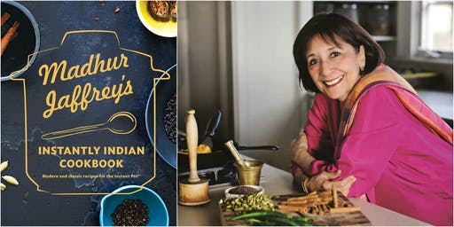 'Instantly Indian,' a Demo & Book Talk with Madhur Jaffrey