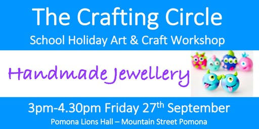 School Holiday Workshop - Handmade Jewellery