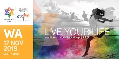 WA - Maccabi LIFE Health & Wellness Expo - 2019 tickets