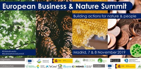 European Business and Nature Summit entradas