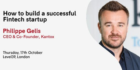How to build a successful Fintech startup? tickets