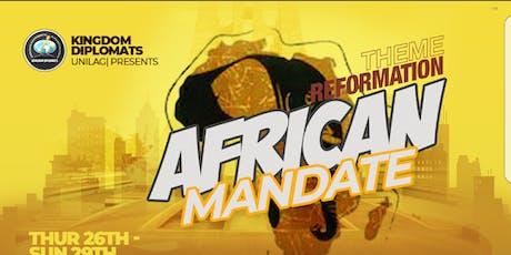 African Mandate: REFORMATION tickets