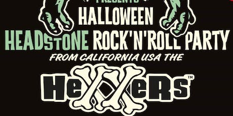 HDD Halloween HEXXERS Headstone Rock'n Roll Party tickets