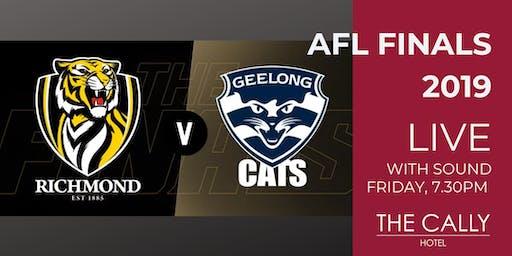 AFL Preliminary Finals 2019 - Richmond VS Geelong