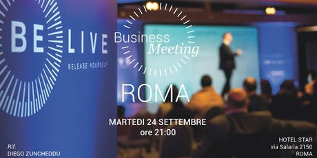 BUSINESS MEETING BELIVE biglietti