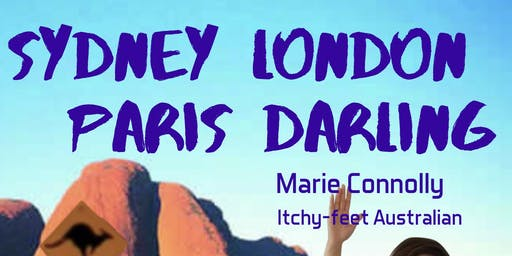Stand-up Comedy in English.  Sydney London Paris Darling.