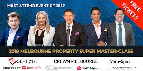 2019 Melbourne Property Super Masterclass tickets