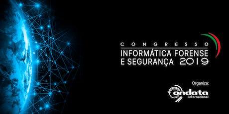 Congresso de Informática Forense e Segurança bilhetes