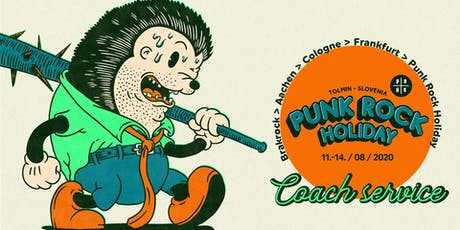 Coach Brakrock - Punk Rock Holiday tickets