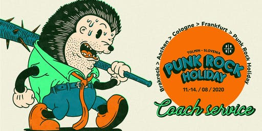 Coach Brakrock - Punk Rock Holiday