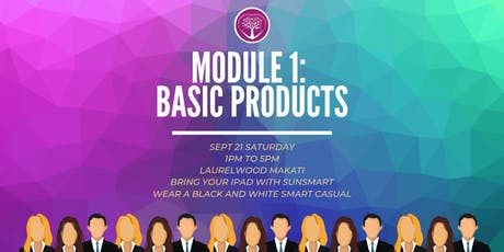 MODULE 1: BASIC PRODUCTS tickets
