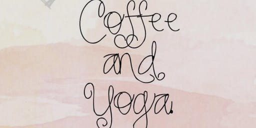 POP UP YOGA + COFFEE @ The Church Block