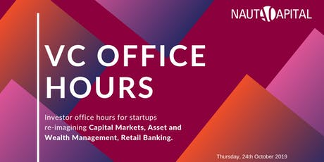 VC OFFICE HOURS WITH NAUTA CAPITAL tickets