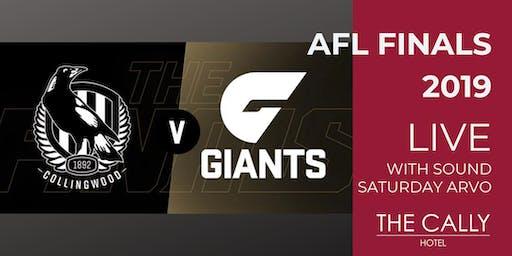 AFL Preliminary Finals 2019 - Collingwood VS GWS