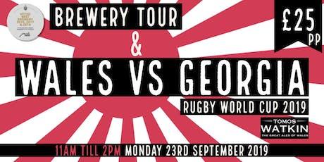 Wales v Georgia + Mini Brewery Tour tickets
