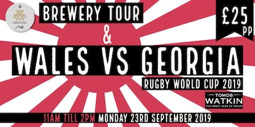 Wales v Georgia + Mini Brewery Tour