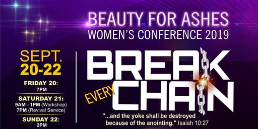 All Nations Beauty For Ashes Annual Women's Confer