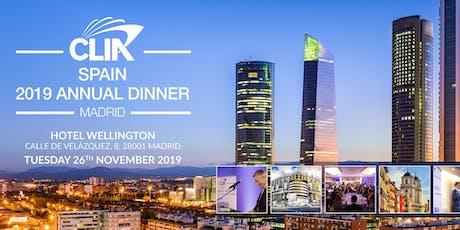 CLIA Spain Annual Dinner 2019 tickets