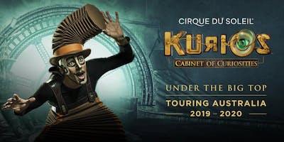 Cirque du Soleil in Adelaide - KURIOS - Cabinet of curiosities