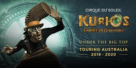 Cirque du Soleil in Adelaide - KURIOS - Cabinet of curiosities ingressos