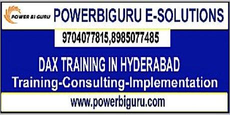 Microsoft Dax training in Hyderabad,India bilhetes