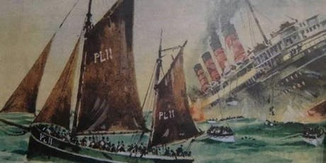 The Wanderer and The Lusitania tickets