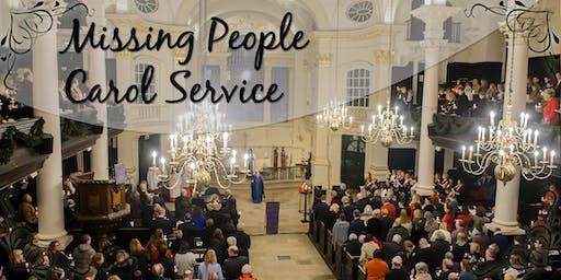 Missing People Carol Service 2019