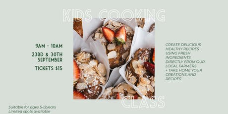 Kids Cooking Class September Holidays tickets