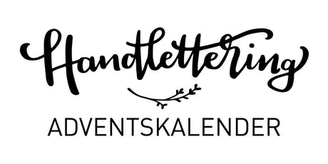 Handlettering ADVENTSKALENDER Tickets