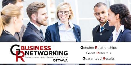 Ottawa Business Networking in Ottawa west central tickets