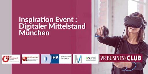 VR Business Club Inspiration Event : Digitaler Mittelstand in München