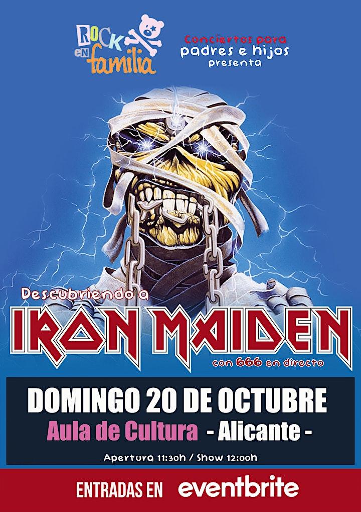 Imagen de ROCK EN FAMILIA: Descubriendo a Iron Maiden - Alicante