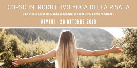 Corso Introduttivo Yoga della Risata - Angie & Andy Teacher Trainer biglietti