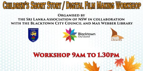 Digital Short Story Film Making Workshop tickets