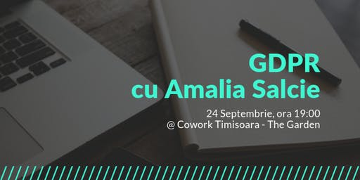 GDPR cu Amalia Salcie