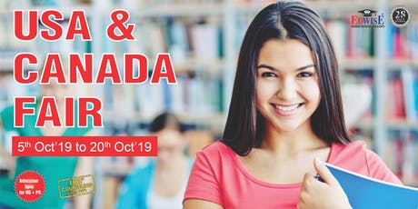 USA and Canada Fair in Ahmedabad tickets