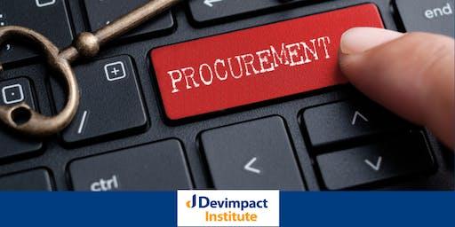 Training on Procurement Management